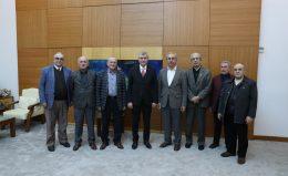 Emeklilerden Başkan Yüce'ye ziyaret